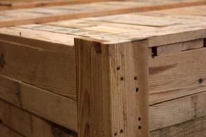 scatola di legno foto