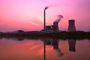 panorama della centrale elettrica