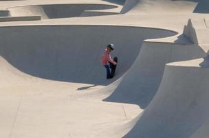 ambizione di skateboard foto