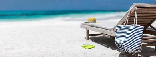 vacanza in spiaggia tropicale foto