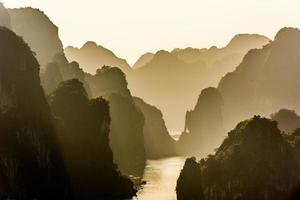 Halong Bay Vietnam foto