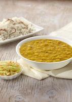 dal tadka, cibo indiano, india foto