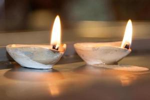 tempio indiano di Batu Caves - candela