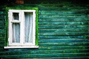 finestra vecchio stile foto