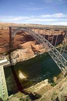ponte della diga del canyon di Glen foto