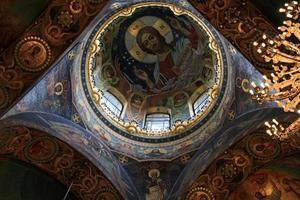 soffitto della chiesa foto