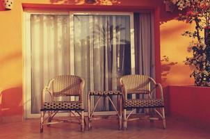 la mattina nel resort