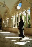 monaca, monastero francescano, dubrovnik, croazia foto