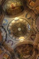 soffitti a volta nella cappella della risurrezione di Wroclaw