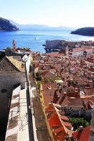 città vecchia di dubrovnik, croazia foto