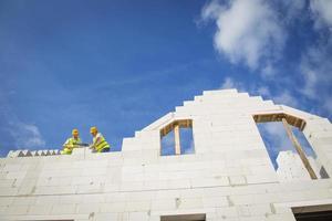costruzione di case foto