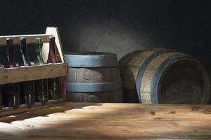 sfondo di birra foto