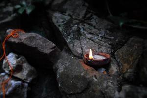 lampada a olio tradizionale
