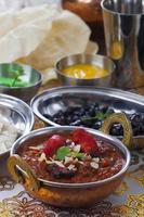 pollo al curry indiano foto