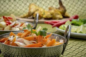 pollo indiano foto