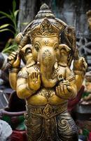 il dio elefante indiano. foto