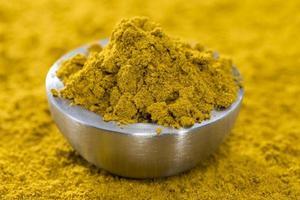 sfondo di curry foto