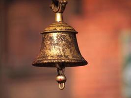 campana di bronzo foto