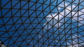 struttura superficiale di acciaio e vetro foto