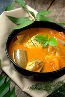 pesce al curry foto