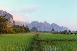 Vang Vieng Resort, Laos foto