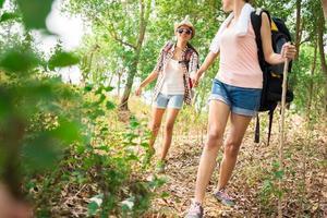 giovani escursionisti