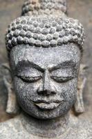 testa di Buddha foto