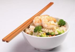 riso vegetale fritto foto