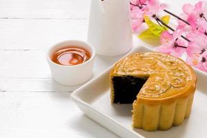 dessert cinese / fondo cinese del dessert foto