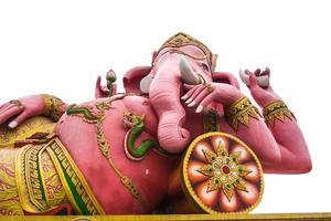 Ganesha con sfondo bianco