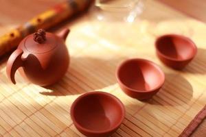 servizio da tè cinese foto