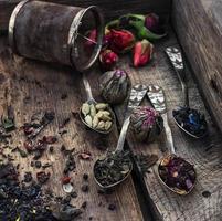 rovesciando cucchiaini da tè