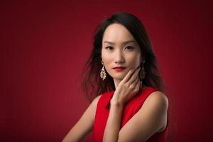 giovane donna cinese foto
