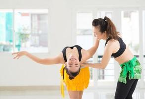 allenamento con istruttore foto