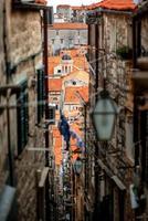 città vecchia di dubrovnik foto