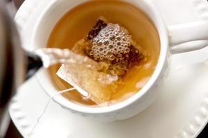 fare il tè foto