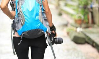 fotografo di giovane donna