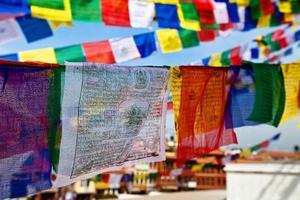 bandiere di preghiera foto