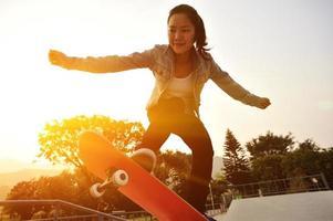 andare con lo skateboard