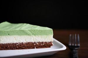 torta matcha foto