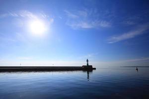 il faro nell'isola Germania di sassnitz ruegen foto