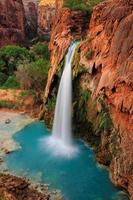 havasu cascata cade nel grand canyon, arizona, noi foto