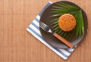 mooncake vietnamita foto