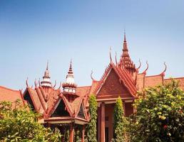 il museo nazionale della cambogia (sala rachana) phnom penh, cambo foto