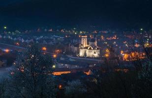sighisoara - vista notturna foto
