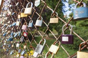 blocco dell'amore. desiderio di amore eterno foto