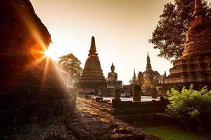 Parco storico di Sukhothai, Tailandia foto