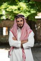 uomo d'affari arabo moderno foto