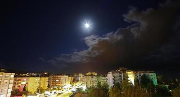 Mahmutlar. vista notturna