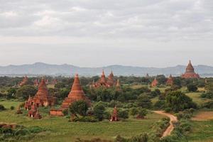 templi in bagan foto